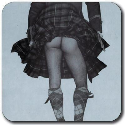 Cheeky Highland Swing Coasters Set of 4