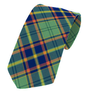 Irish National & County Tartan Ties