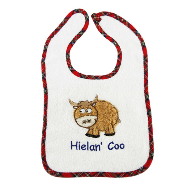 Scottish Bib - Highland Cow