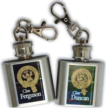 Clan Key Chain Mini Flask