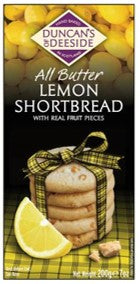 Duncan's of Deeside Lemon Shortbread