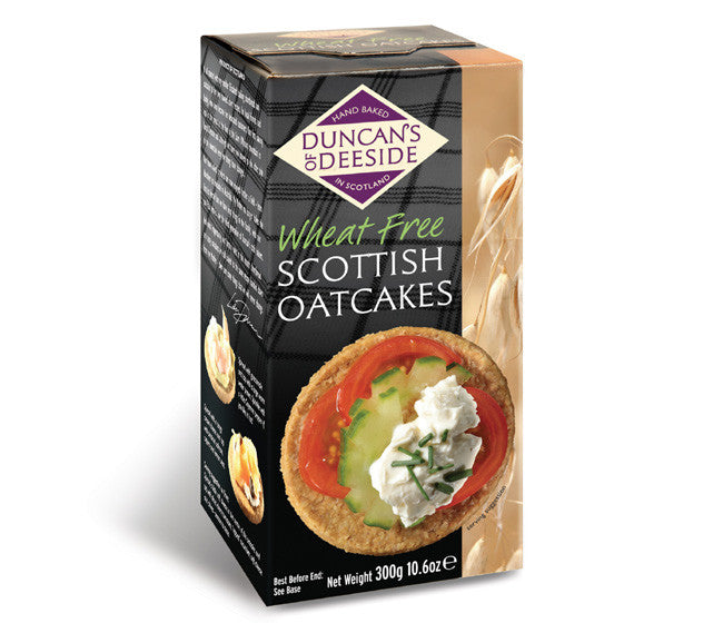Duncan's of Deeside Scottish Oatcakes - Wheat Free