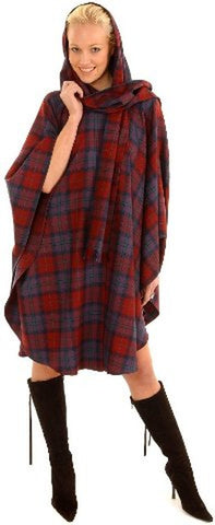 Edinburgh Cape with Attached Hood and Scarf