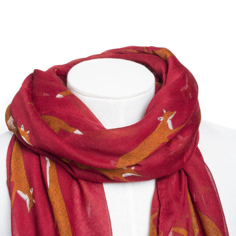 Scarf - Red Fox