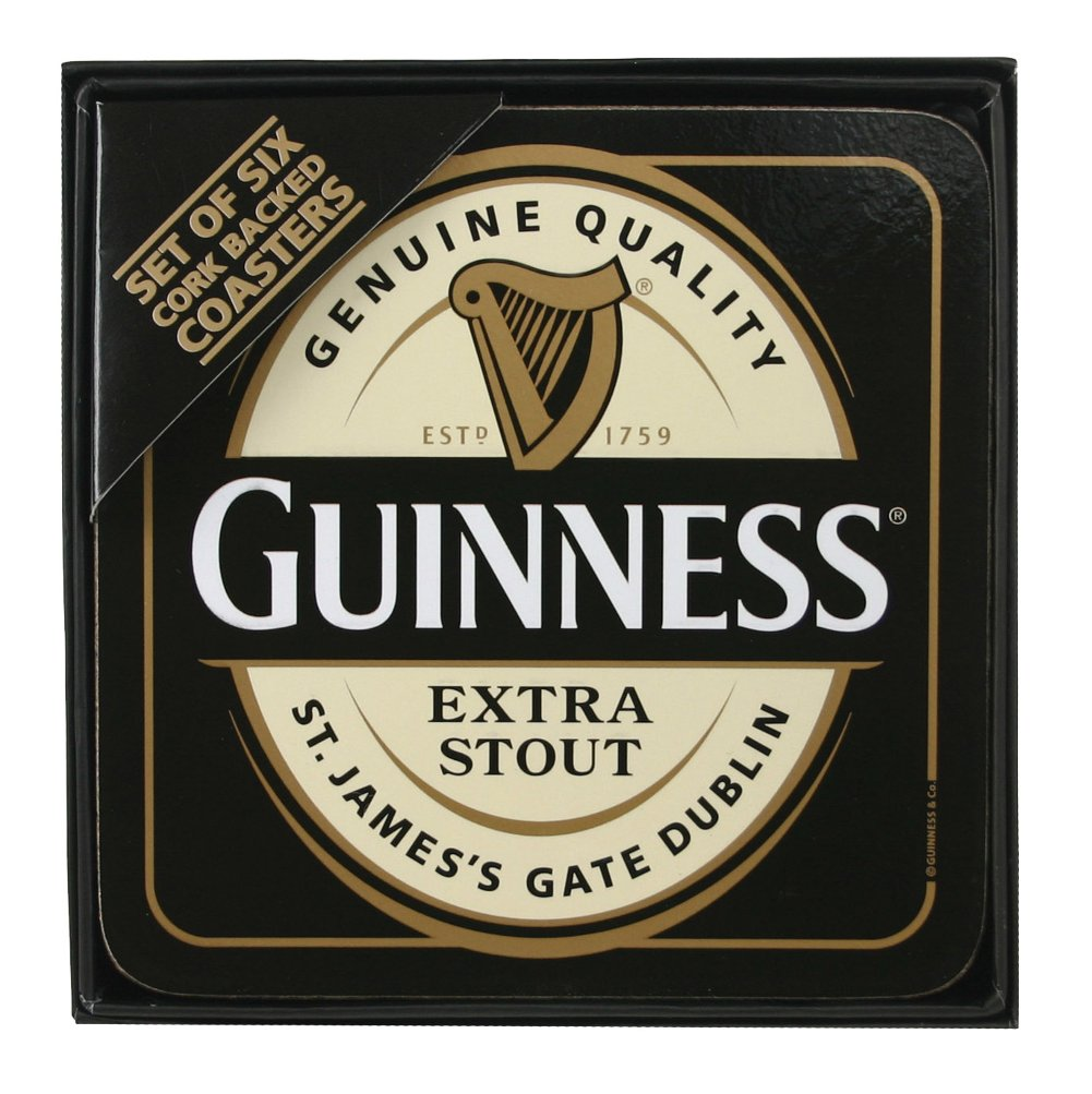 Guinness label Coasters
