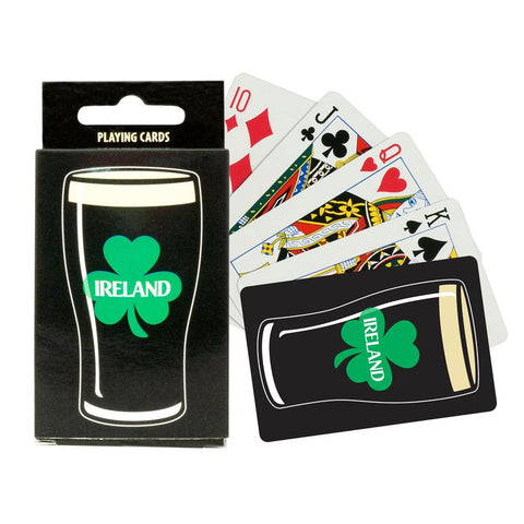 Irish Pint playing Cards