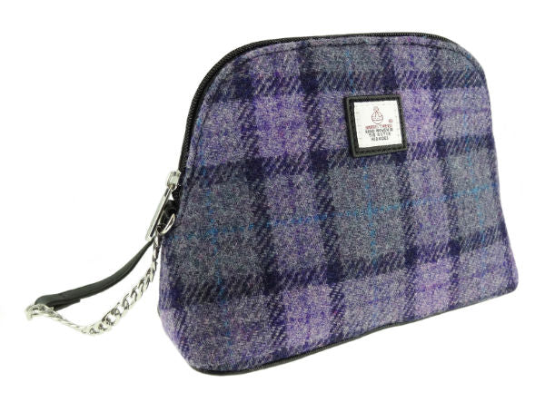 Harris Tweed Crossbody Bag - Leven
