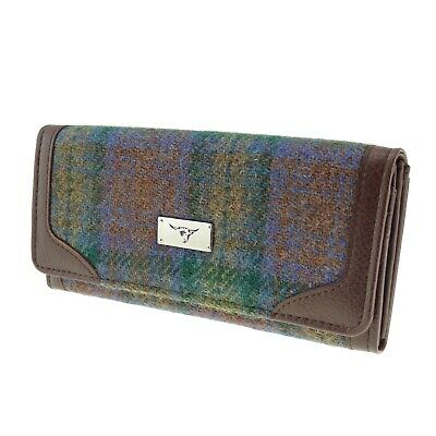 Harris Tweed Wallet - Bute