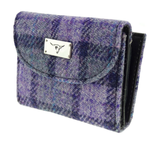 Harris Tweed Wallet - Jura