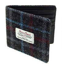 Harris Tweed & Leather Wallet - Douglas