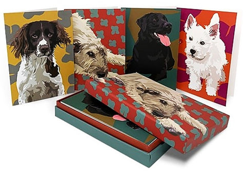 Leslie Gerry Dogs Note/Greeting Card Pack