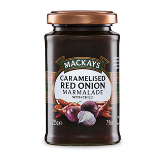 MacKays Caramelised Red Onion Marmalade with Chilli