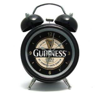 Guinness Double Bell Alarm Clock