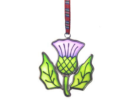Scottish Stained Glass Window Ornaments