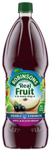 Robinson's Apple & Blackcurrant NSA Double Concentrate 1.75L