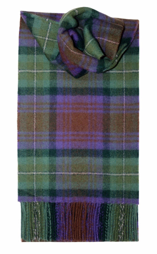 Scottish Clan & Family Tartan Scarves M-W