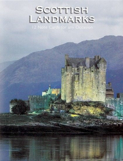 Scottish Landmarks - 12 Notecards