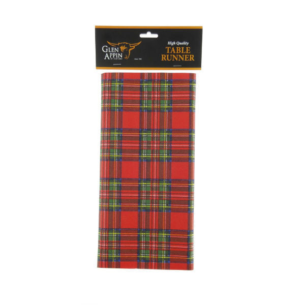 Tartan Table Runner - Royal Stewart