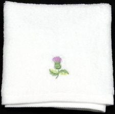 Thistle Face Cloth