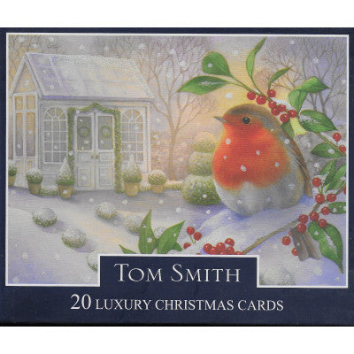 Christmas Card Pack - Robin