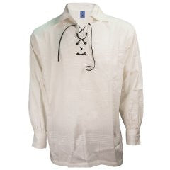 Peasant Shirt - White