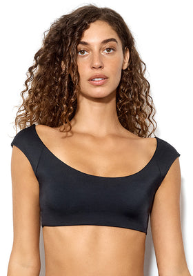 Dolce: The Modern Cap Sleeve Bikini Top