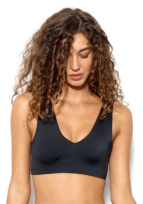 Falcon: The V Neck Crop Bikini Top