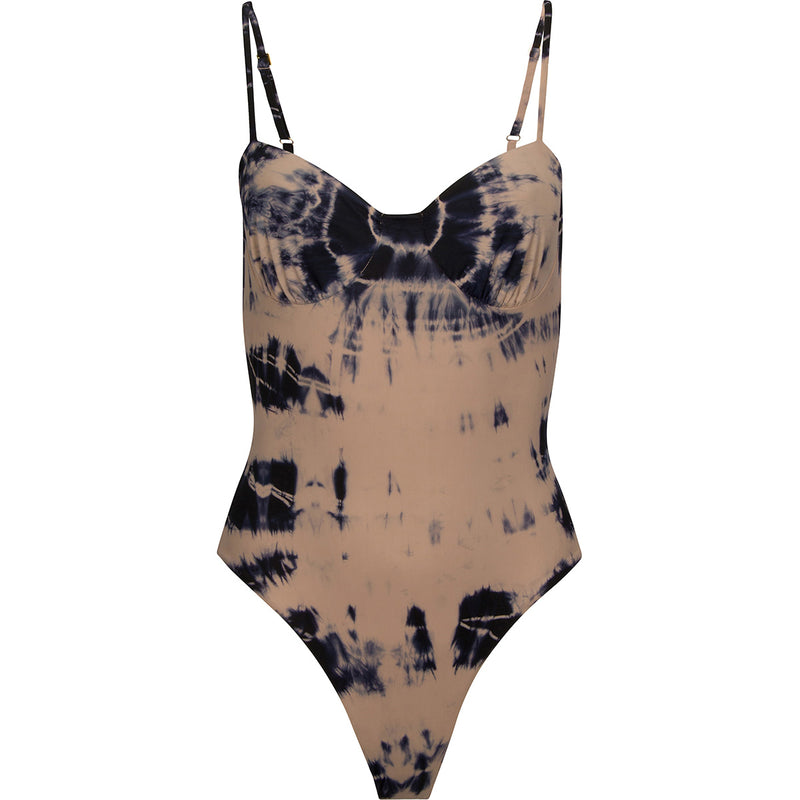 Tie Dye Love Button: The Sweetheart One Piece