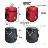 Dolphin Waterproof Panniers 32L (Pair)