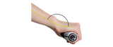 Ergon GP1 Grip Wrist Angle 2