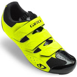 Techne Road Cycling Shoe HiLite Yellow Front
