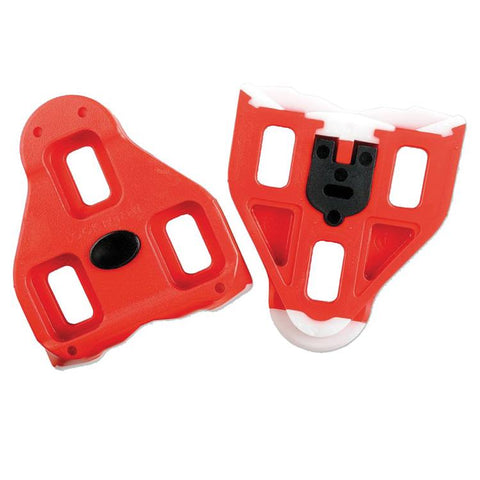 Delta Cleats Pair Red