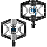 Double Shot Pedals BlackRawBlue