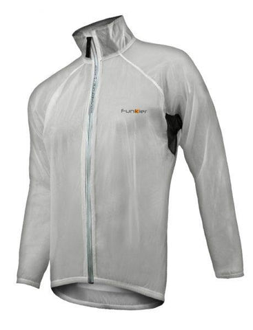 Lecco Rain Jacket Clear Side