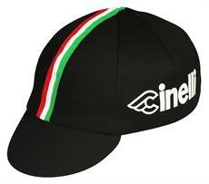 Traditional Cycling Cap Cinelli Black