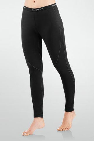 Women Base Layer Pace Leggings Black