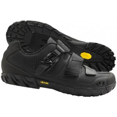 Terraduro HV Cycling Shoes Black Front