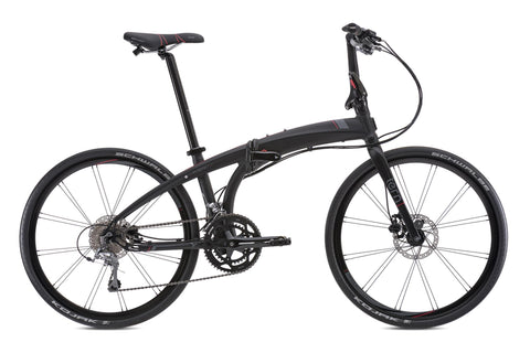 Eclipse P20 Folding Bike BlackRed Side
