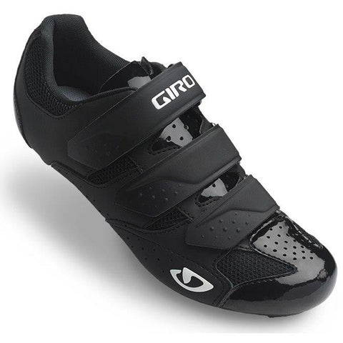 Techne Women Road Cycling Shoe Black Front
