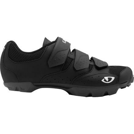 Riela Women Cycling Shoes BlackCharcoal Front