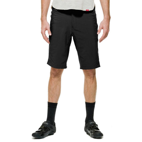 40M Tech Overshort Men Shorts Black Front