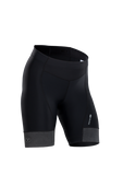 Womens's Evolution Short Black Front