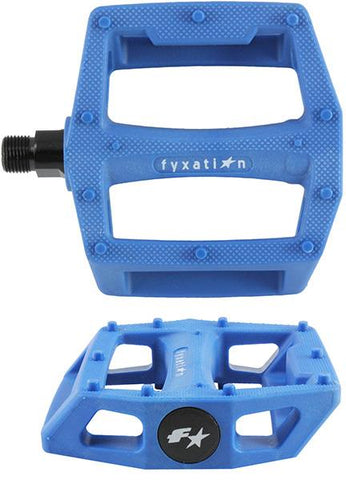 Fyxation Gates Platform Pedals Blue