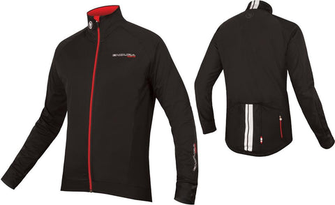 Endura FS260 Pro LS Jersey Black Front and back