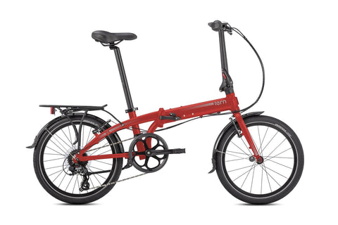 Tern Link C8 Red Sideview