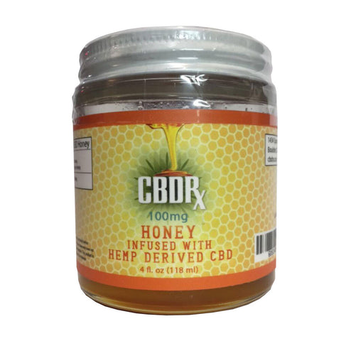 CBDrx Honey 100 mg 4 oz Jar
