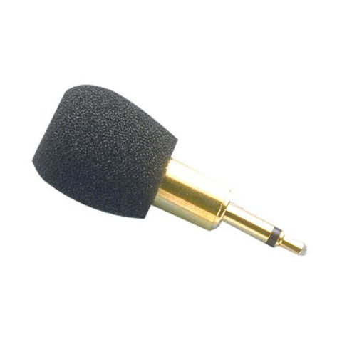 Williams Sound MIC 014-R plug Mount Microphone; Can be used with PockeTalker, DigiWave DLT transceivers or T2863 FM Transmitter; 3.5mm mono plug; Omnidirectional condenser