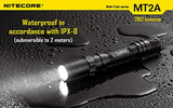 Nitecore MT2A CREE XP-G2 R5 LED 345 Lumen Multi-Task Flashlight, Black