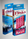 Smuggle Your Booze with 10 Tampon Flasks and 10 Sleeves (Redesigned 2016 Version)