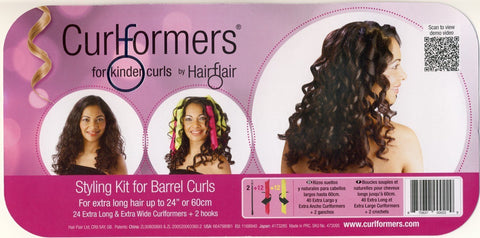 Curlformers Extra Long Barrel Curls Styling Kit